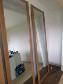 3x sliding wardrobe doors
