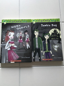 """2x """"Rotten Apple"""" chapter books (ages 9-12)"""