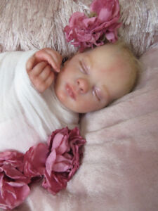REBORN DOLL EVELYN SLEEPING
