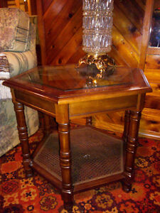 side table (two in total)