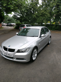 BMW 320 d silver