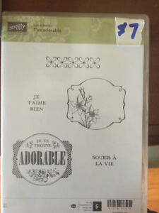 Scrapbooking -Stampin Up T'es adorable