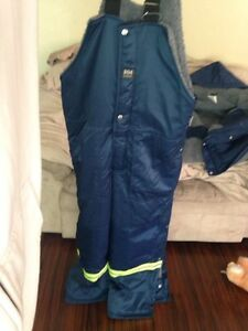 Medium Helly Hansen workwear and  pair of boots
