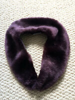 Faux fur collar for infants