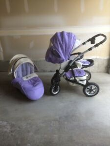 European Stroller with Bassinet