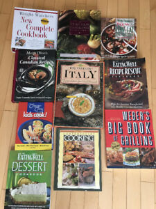 Cookbooks for Sale - $5 each