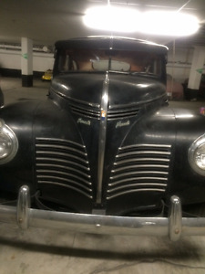 1940 Plymouth All Original,No Rust,Engine is 10/10,Leather inter