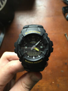 G shock water proof watch cost 150 new, asking 80 OBO