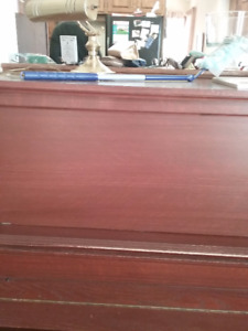 Antique Piano and Bench for sale
