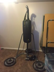 REDUCED again. Heavy bag with stand