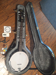 Banjo - Epiphone MB-100 with case and accessories