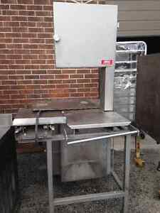 Hollymatic Hi-Yield 16 Commercial Meat Bone Band Saw