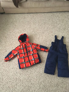 Toddler Boys Winter Coat and Snow Pants