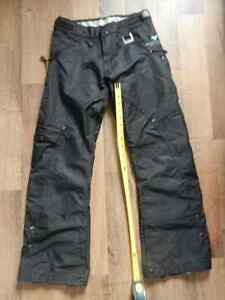 Black ladies snow pants xs