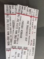 The Tragically Hip - Caesars Windsor - July 3, 2015 (2 tickets)