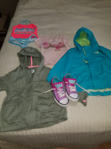 Lot of clothing for 4-5 year old girl