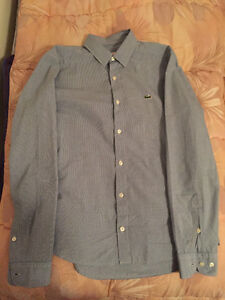 chemise lacoste taille 38 (S)