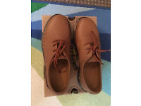 Dr Martens Air Wair 1461 Scotchgrain Tan Brun Clair Size 6