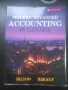 Modern Advanced Accounting in Canada(W/Code) 8th.Ed, McGrawHill