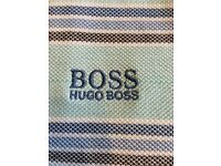 3 genuine Hugo boss green polo shirts