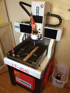 4 Axis CNC + 2.2KW Spindle - Mills steel! FREE SHIP2MAJORCITY