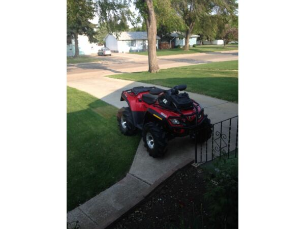 Used 2012 Can-Am Outlander 650XT