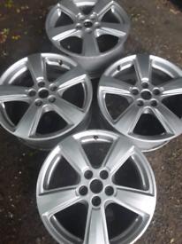 "17"" aftermarket Ford Focus mk2, Kuga, Mondeo, S-Max alloy wheels (440"