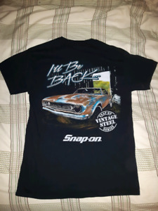 Snap On T Shirt