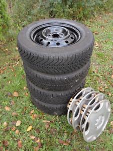 Snow Tires + Rims