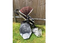 Icandy peach pushchair stroller