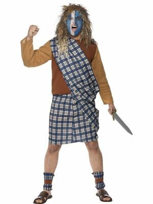 Tales of Old England - Scotsman Braveheart William Wallace - Adult Kilt Costume](Scotsman Costume)