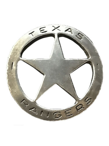 NWT Replica Badge - Old West Made in the USA Texas Ranger Historic Replica PIN