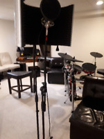 band rehearsal, demos, music production and music lessons