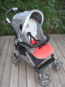 Peg Perego car seat and stroller with pram