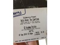 2 Libertines/Rat Boy Stalls Standing Tickets