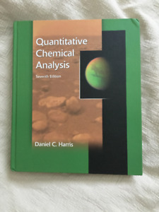 Quantitative Chemical Analysis (7th Edition) Textbook