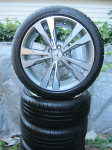 """Factory Mercedes 18"""" Pirelli winter alloy package"""