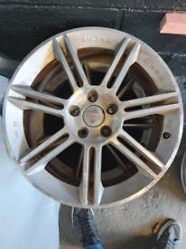 18 inch 7.5j Mk2 seat cupra bbs alloy wheels