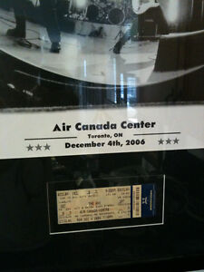 The Who Framed Poster and Concert Ticket Kitchener / Waterloo Kitchener Area image 2