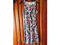 H & M Floral Sundress - Small