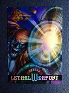 Marvel Fleer Ultra X-Men Random Leathal Weapon Trading Card