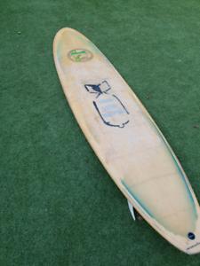 Bamboo Longboard / Mal / Malibu 8'6 Surfboard