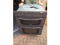 Hot point double oven BU62
