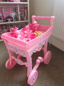 Disney princess tea trolley
