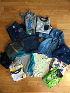 12-18 month boy tops and PJs