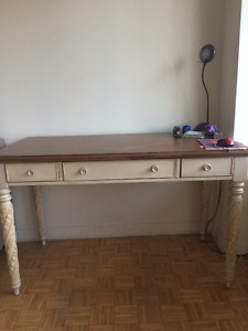 Furniture Sale: Desk / Paintings / TV Stand