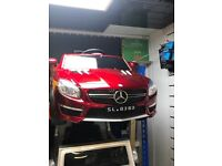 Mercedes Sl63 In Red Or White, Parental Remote & Self Drive, 12v