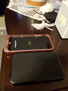 Morphe case and charger for I phone 6&7