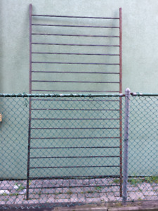 Wrought Iron Fence Section - 8 feet 5 Inches