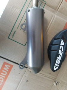 EXHAUST AND FRONT DISC GUARD